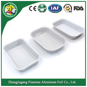 Disposable Takeaway Airline Aluminium Foil Container / Casserole