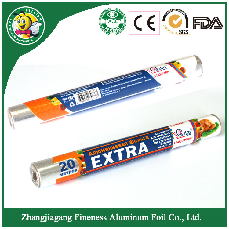 Food Grade Household Aluminum Foil Roll Price