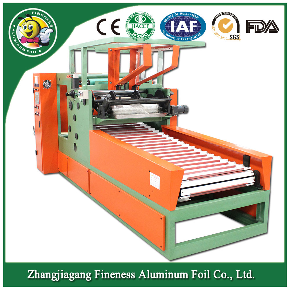 Rewinding and Cutting Machine for Kitchen Foil----Hafa-850