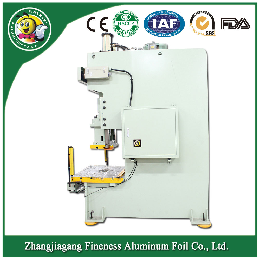 Newest Professional Top Aluminum Foil Box Making Machine