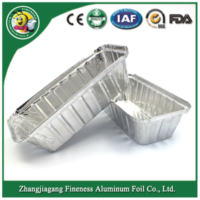 Aluminum Foil Dish Container for Fast Food