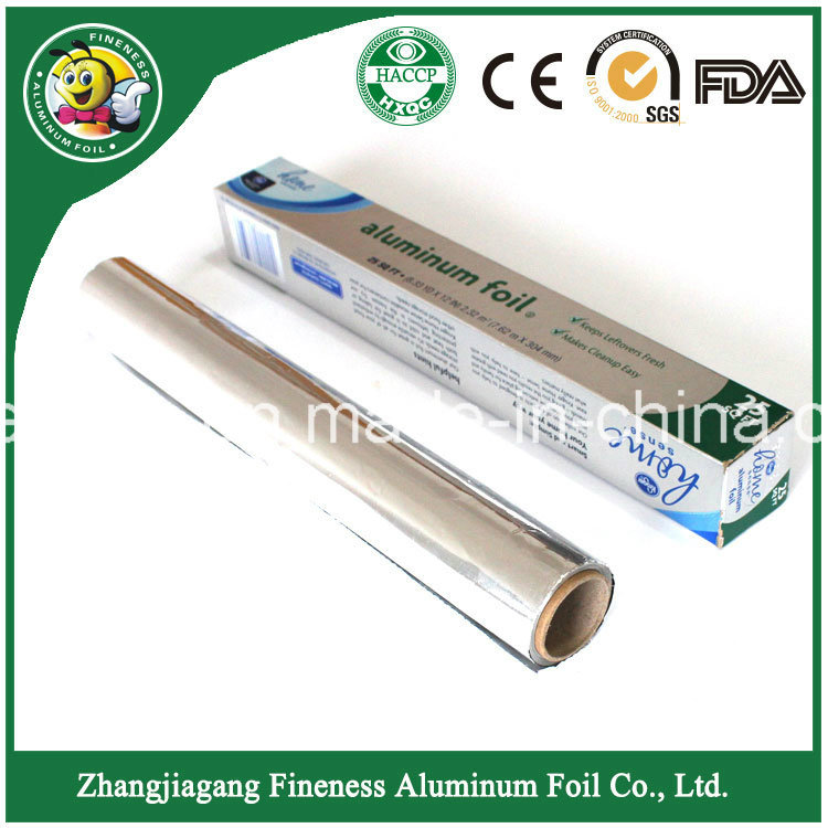 Fashion Packing Aluminum Foil Roll for Household Use Family Size