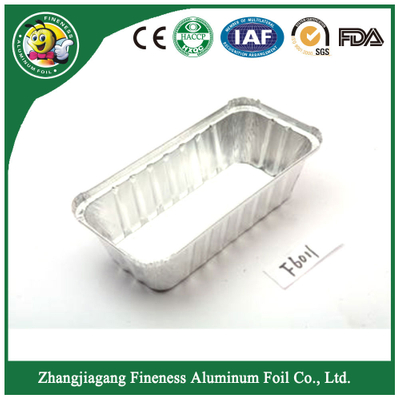 Low Price Disposable Airline Aluminum Foil Food Container