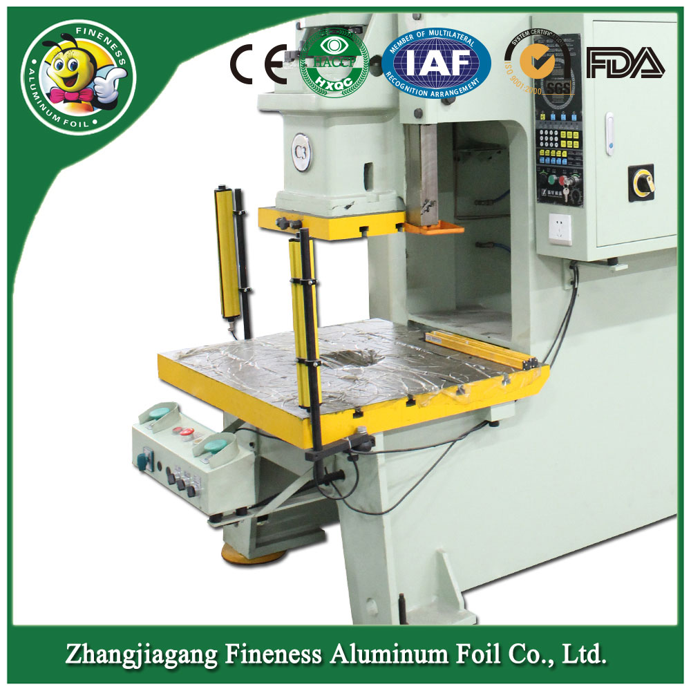 Durable Stylish Aluminium Foilcontainer Making Machine