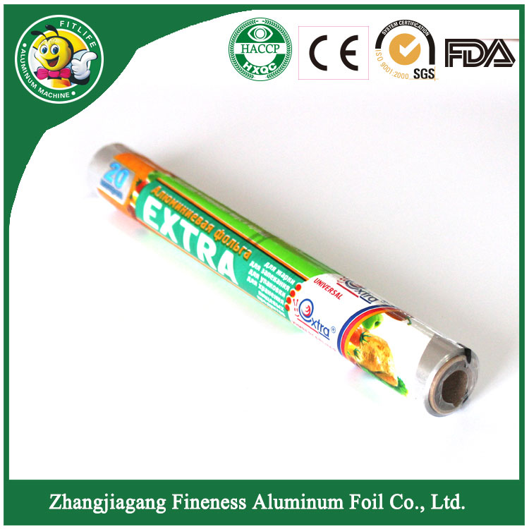 Aluminum Foil Shrink Pack with PVC