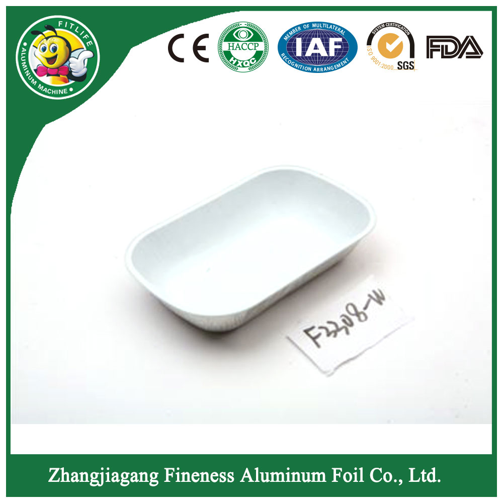 Disposable Aluminum Foil Container Box_F3308