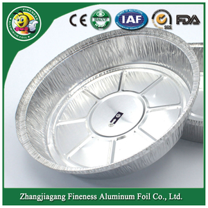 Round Aluminum Foil Container for Korea Market Y6011