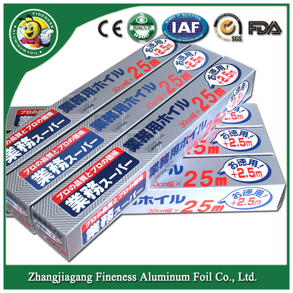 Aluminum Foil-182 Family Size for Food Usage