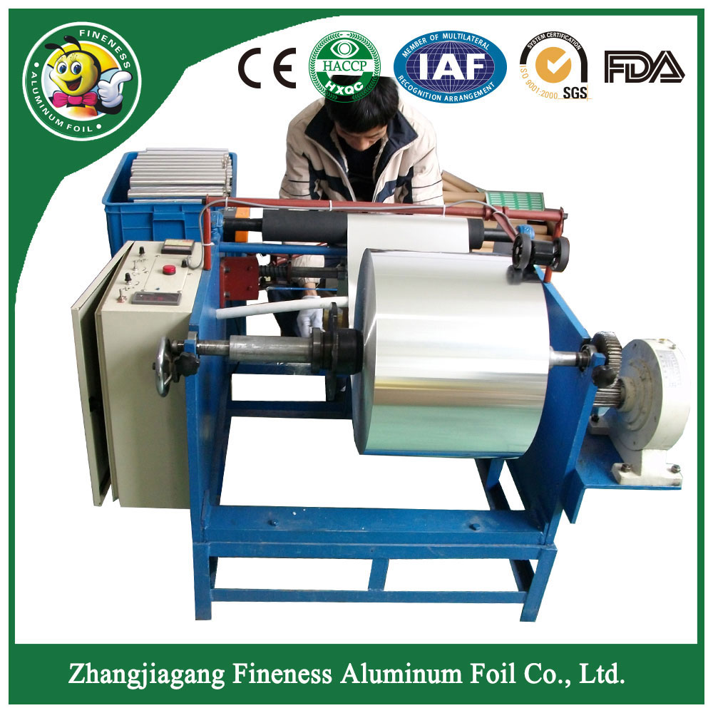 China Latest Trendy Top Aluminum Foil Roll Rewinding