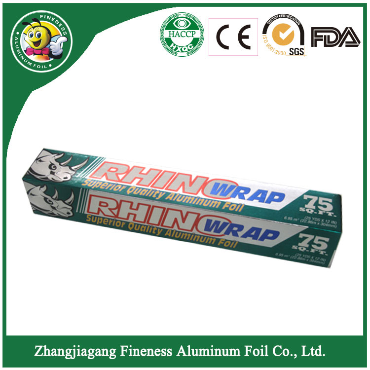 Plastic Wrap Greaseproof Aluminum Foil Paper in Roll