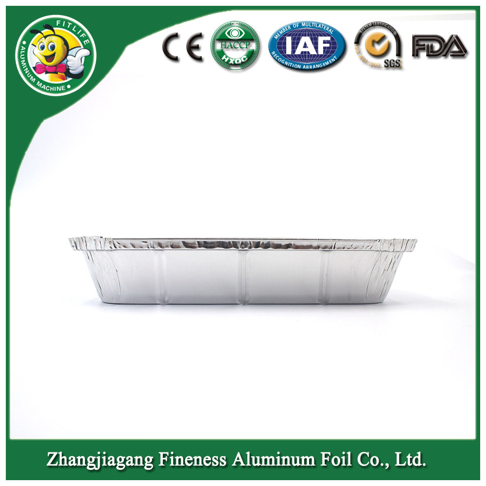 Best Selling Pollution Free Factory Stock Full Sizes Aluminium Material and Food Use Disposable Aluminium Foil Container