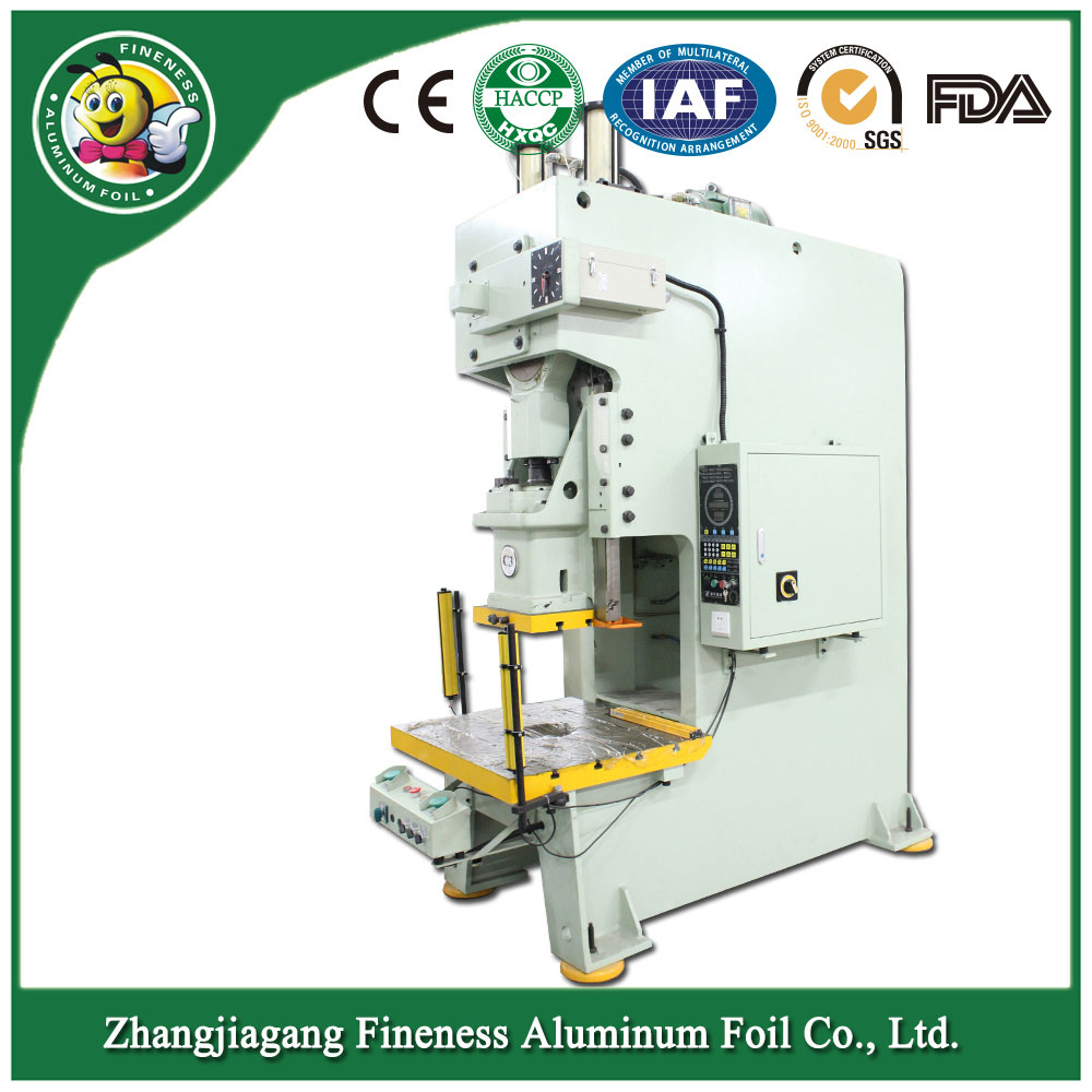 Aluminum Foil Food Container Production Machine