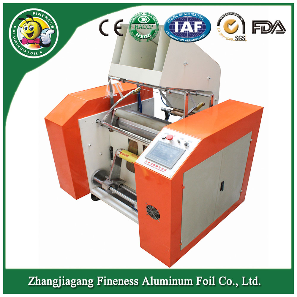 Good Quality Stylish Afoot Service Foil Rewinding Machinery
