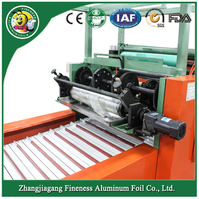 Household Aluminium Foil Roll Rewinding and Cutting Machine Strawberries