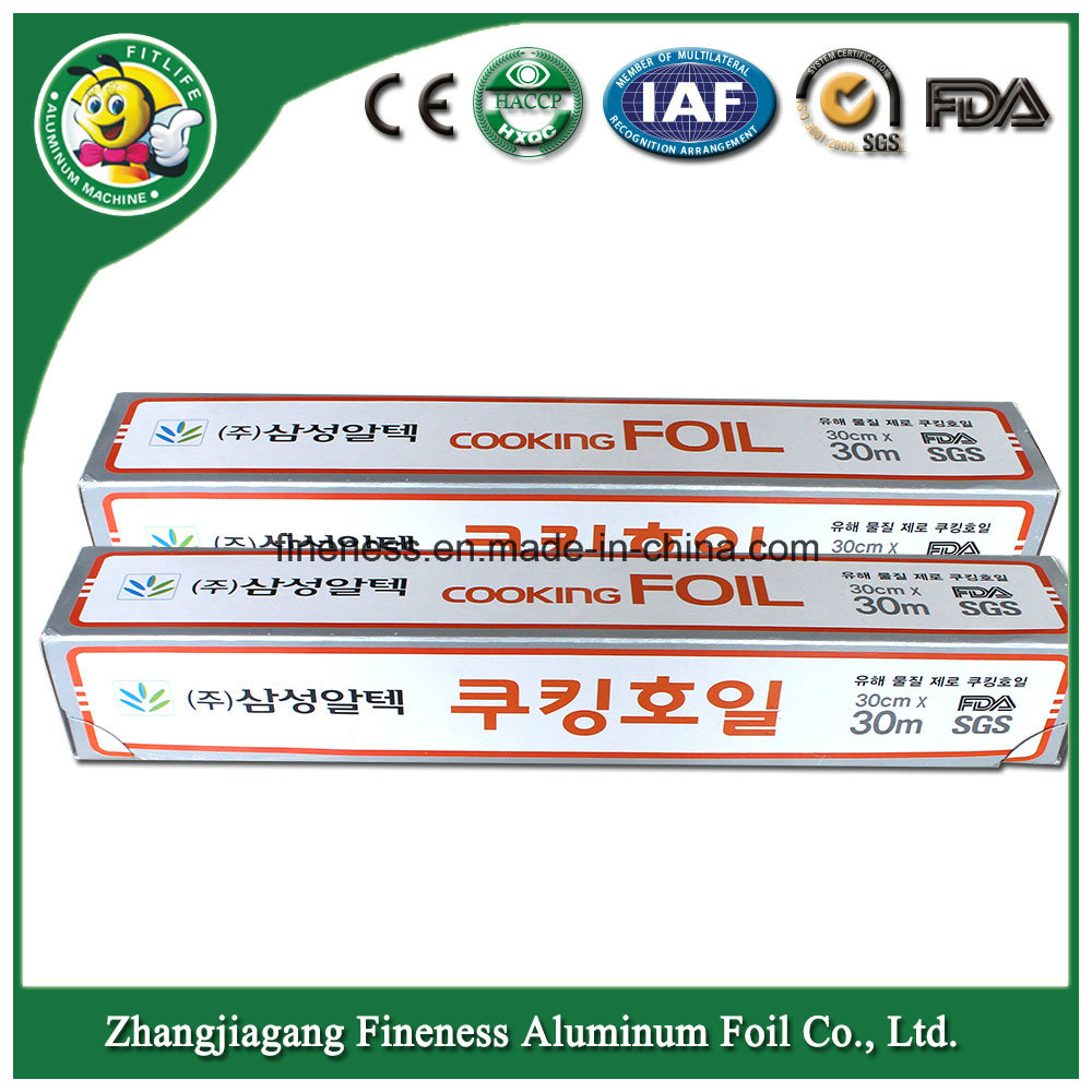 Aluminum Foil for Food Packing (Korean)