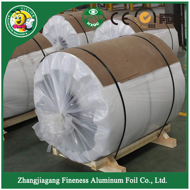Aluminum Foil with Wood Packing-1