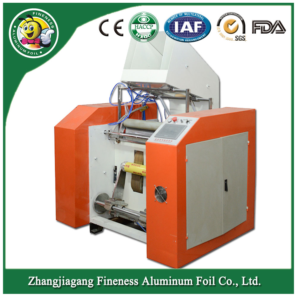Popular Best Selling Aluminum Foil Rewind Slitter Machine