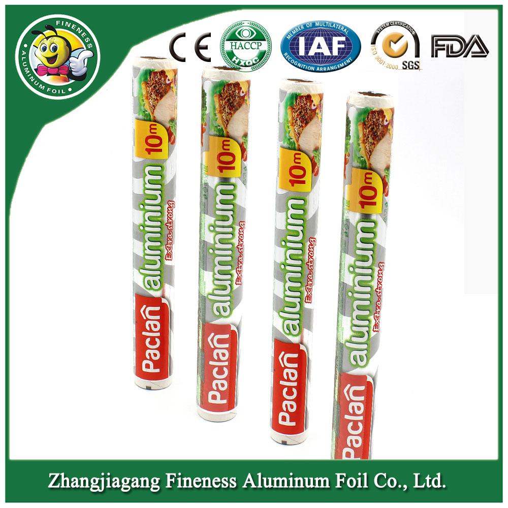 Soft Coated Colored Aluminum Foil Small Roll