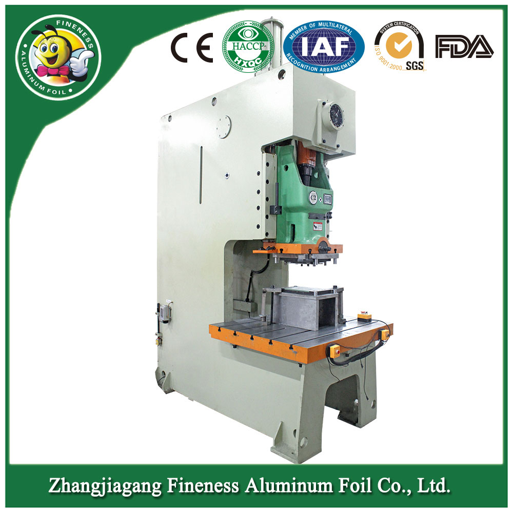 Aluminum Foil Food Container Machine
