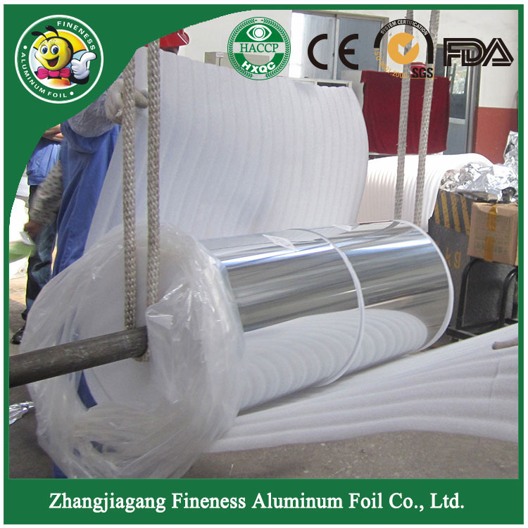 Jumbo Aluminum Foil Roll for Household and Kitchen Use