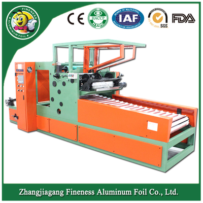 New Updated Disposableafoil Rolls Rewinding machine