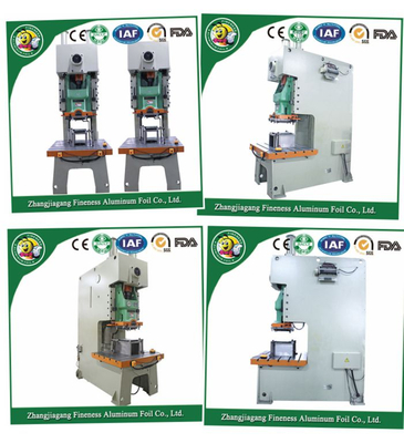 Aluminum Foil Food Container Machinery