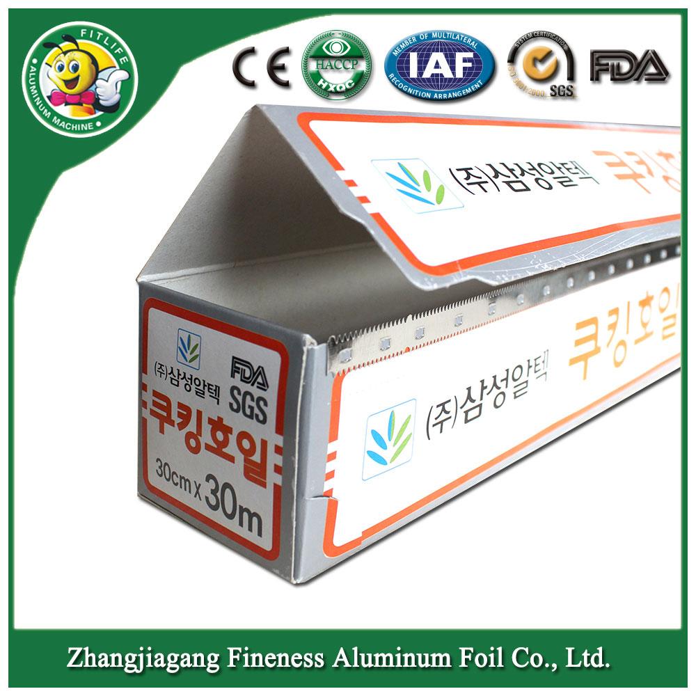Aluminum Foil for Food Packaging